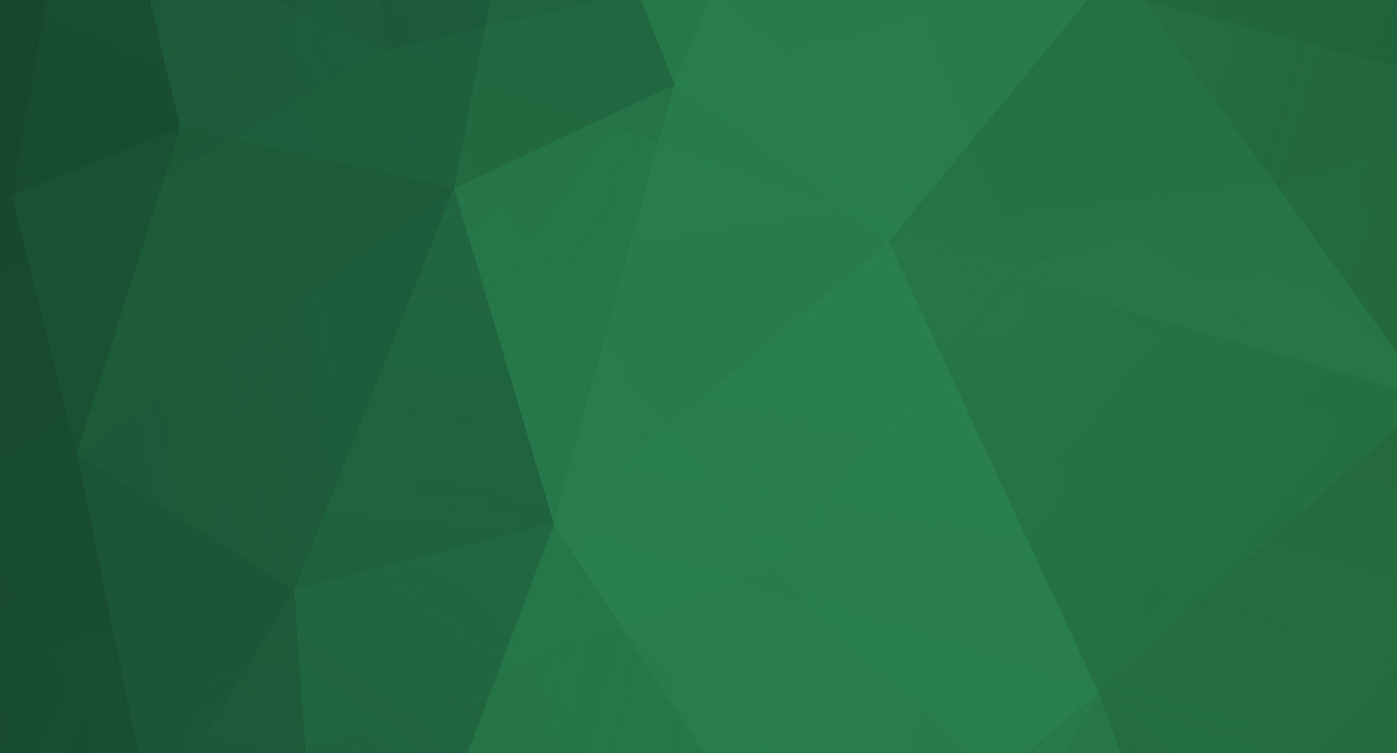 Green geometric background